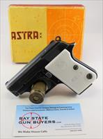 Astra CUB semi-automatic Palm Pistol ~ .22 Short ~ ORIGINAL BOX