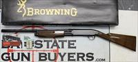 "Browning BPS pump action shotgun ~ 20Ga ~ HUNTER ~ 22"" Vented Rib ~ ORIGINAL BOX & MANUAL"