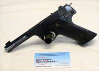 1946 High Standard H-D MILITARY semi-automatic Target Pistol ~ .22LR