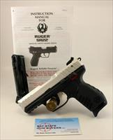 Ruger SR22 semi-automatic pistol ~ .22LR ~ Manual & (2) Factory Magazines