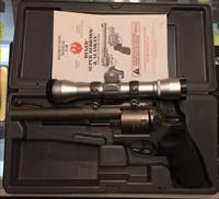 USED RUGER SUPER REDHAWK 454 CASULL W/SCOPE FREE SHIPPING!! MODEL 5055