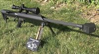 Barrett M99 .50BMG w/ 1900 rds ammo and Leupold Mk 4 Optics