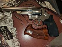 S and W model 29-3  .44 mag Nickel with original and pachmayr grips