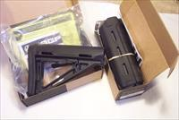 MAGPUL MOE COMMERCIAL STOCK BLACK NEW WITH Carbine length HANDGUARD