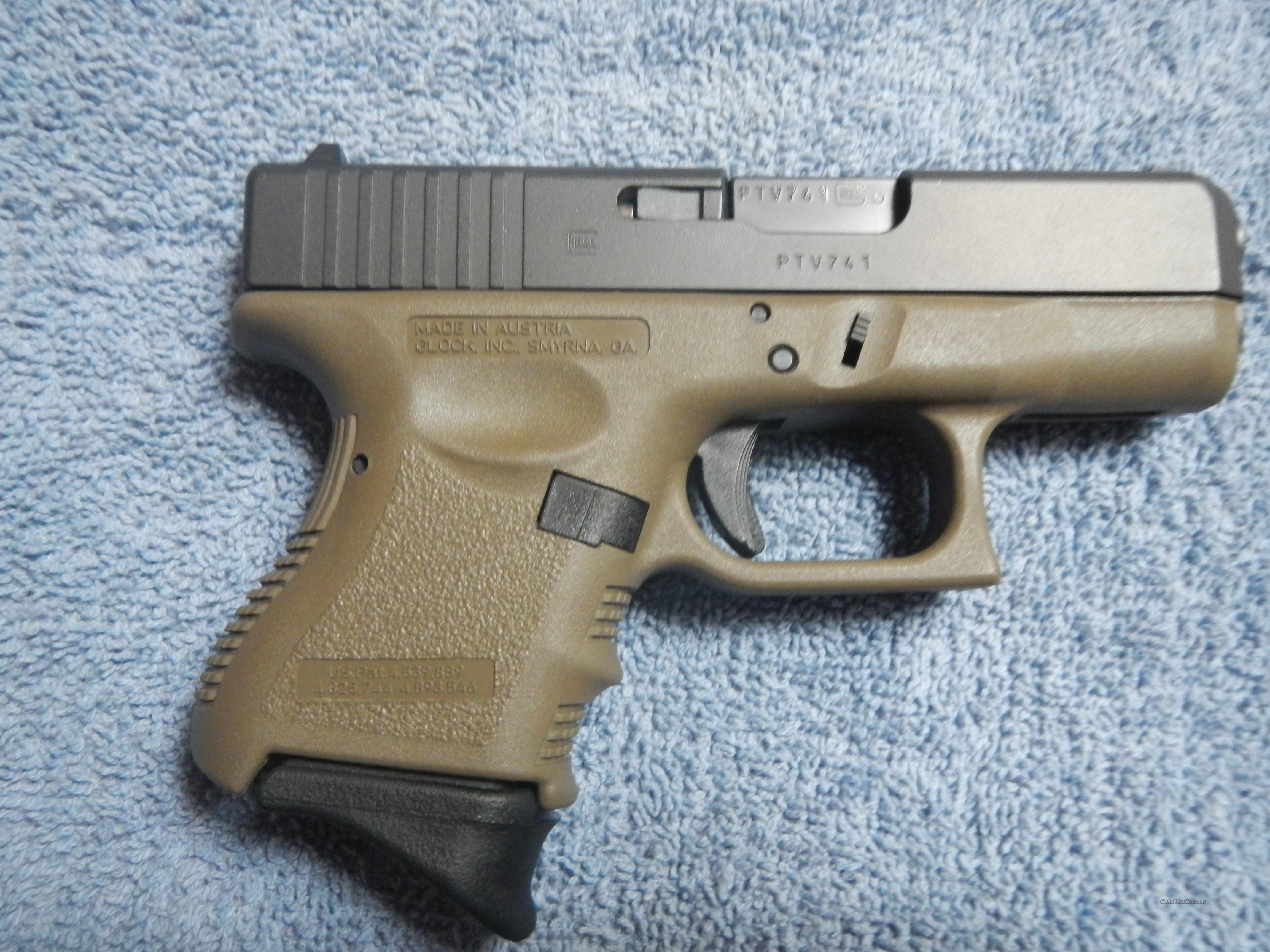 Glock 26 Gen 3 Original Od Green For Sale