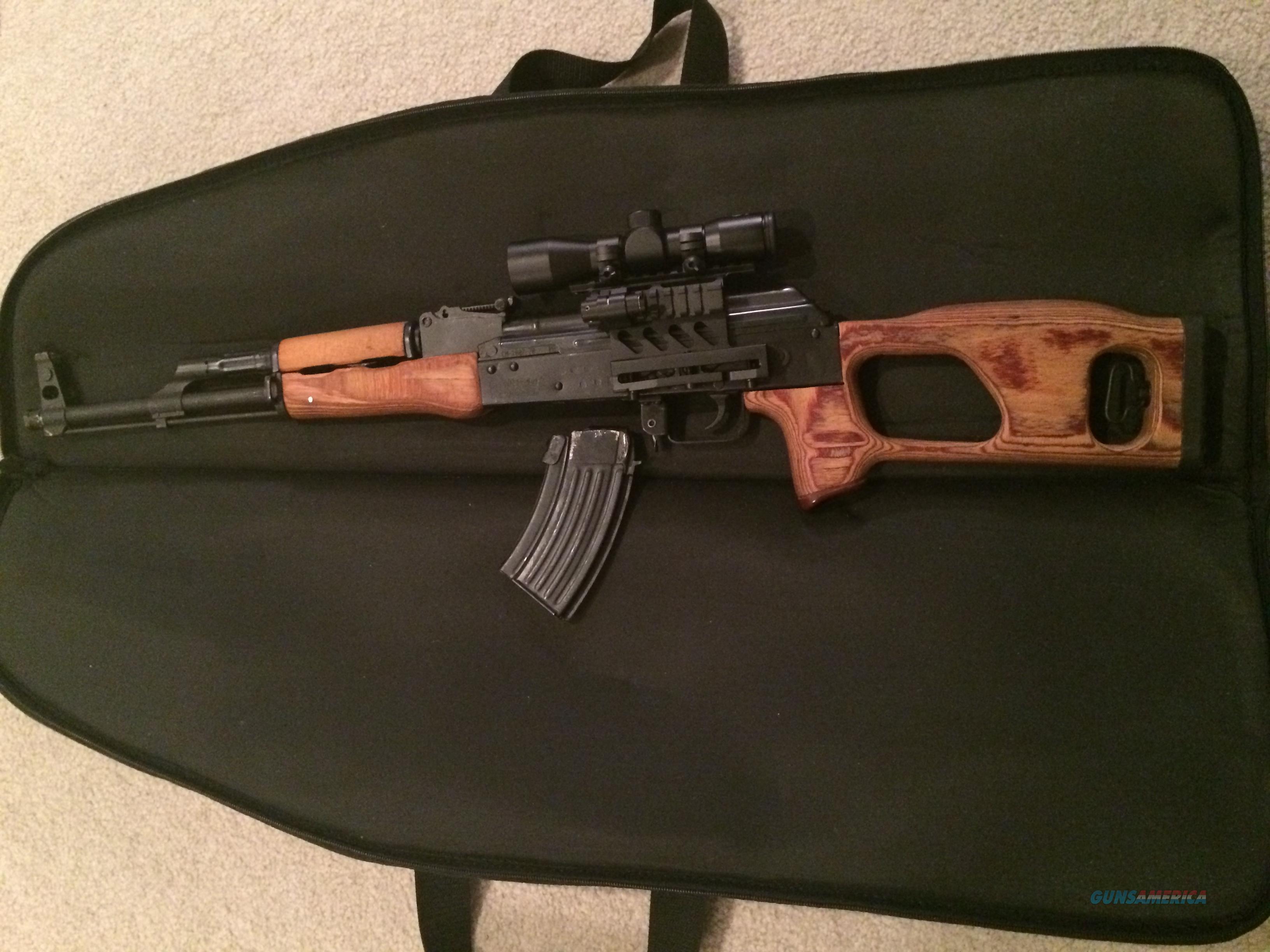 AK-47 - / Tactical Scope & Laser Red Dot - Romanian