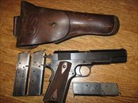 1918 COLT WWI Black, Model 1911 w/holster and 3 clips