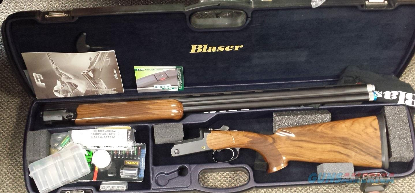 Blaser 12 gauge f3 vantage over and under new shotgun for sale buy - Blaser F3 Sporting Standard Competition 32 Guns Shotguns Blaser Shotguns