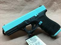 Glock 19 Gen 4 9mm Robbin's egg