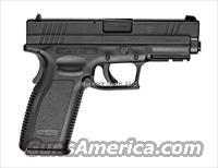 "Springfield XD9101SP06 XD System 9mm 4"" Blk 10rd"