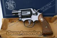 "Beautiful Vintage Smith & Wesson Model 10 Snub Nose Service 38 Revolver Box & Papers.  "" I Trade """