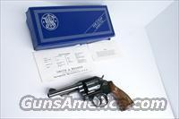 "Gorgeous Vintage Model 10 Smith & Wesson Military Pin Barrel 38 Special Revolver Box & Papers  "" I Trade"""