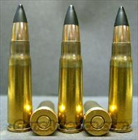 20ct., 7.62x39mm Lapua Black-Tip Steel-Core Ammo!