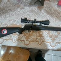 Savage 22 Mag Target Rifle w/3-9x50scope AND W/ACCU-TRIGGER