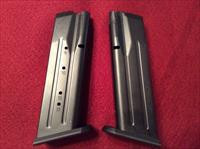 Witness .38 Super 17 Round Magazines (2)
