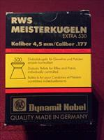 RWS Meisterkugeln .177 Competition Pellets Box of 500