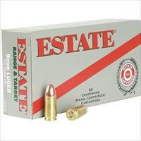 FEDERAL ESTATE RANGE & TARGET 9MM LUGER 115 GRAIN FMJ. 1000 ROUNDS !!!