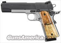 "Sig Sauer 1911 TTT Full Size 5"" 45ACP!!! Layaway Available Call Us Today!!!"