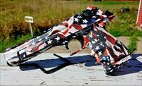Custom Desert Eagle American Flag Package w/ 50 AE, (2)44 Mag, and 357 Mag barrels, magazines, td tool and hard case