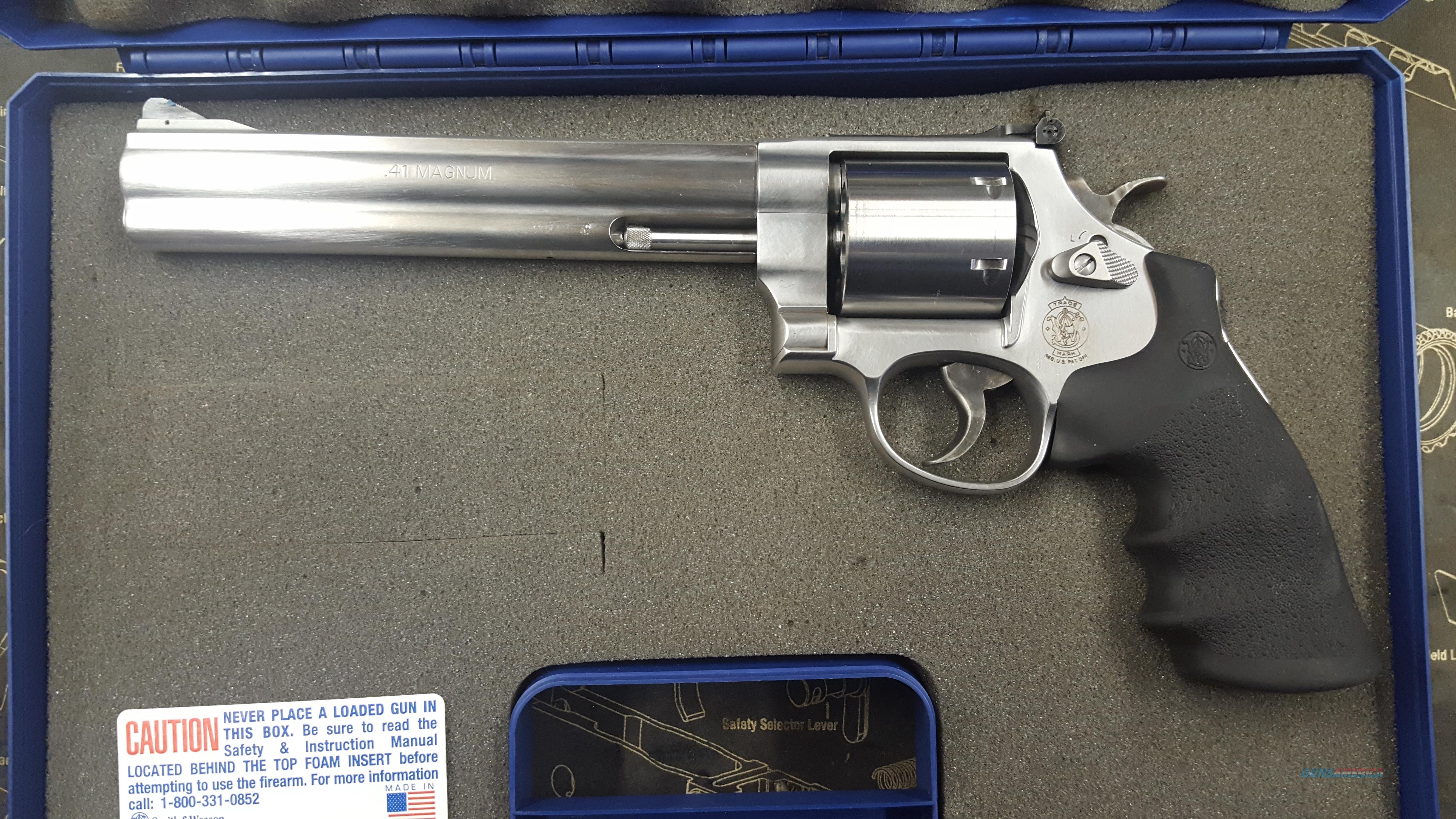 s w 41 magnum 163946 for sale rh gunsamerica com sw 41 rotor manual SW 41 Grips