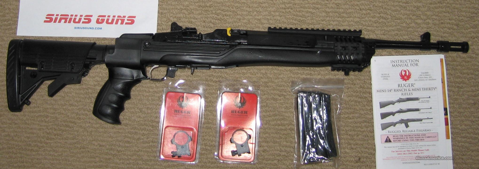 ruger mini 14 tactical ar 15 style ati folding for sale rh gunsamerica com ruger mini 14 tactical owners manual Ruger Mini-14 Tactical Sniper Rifle