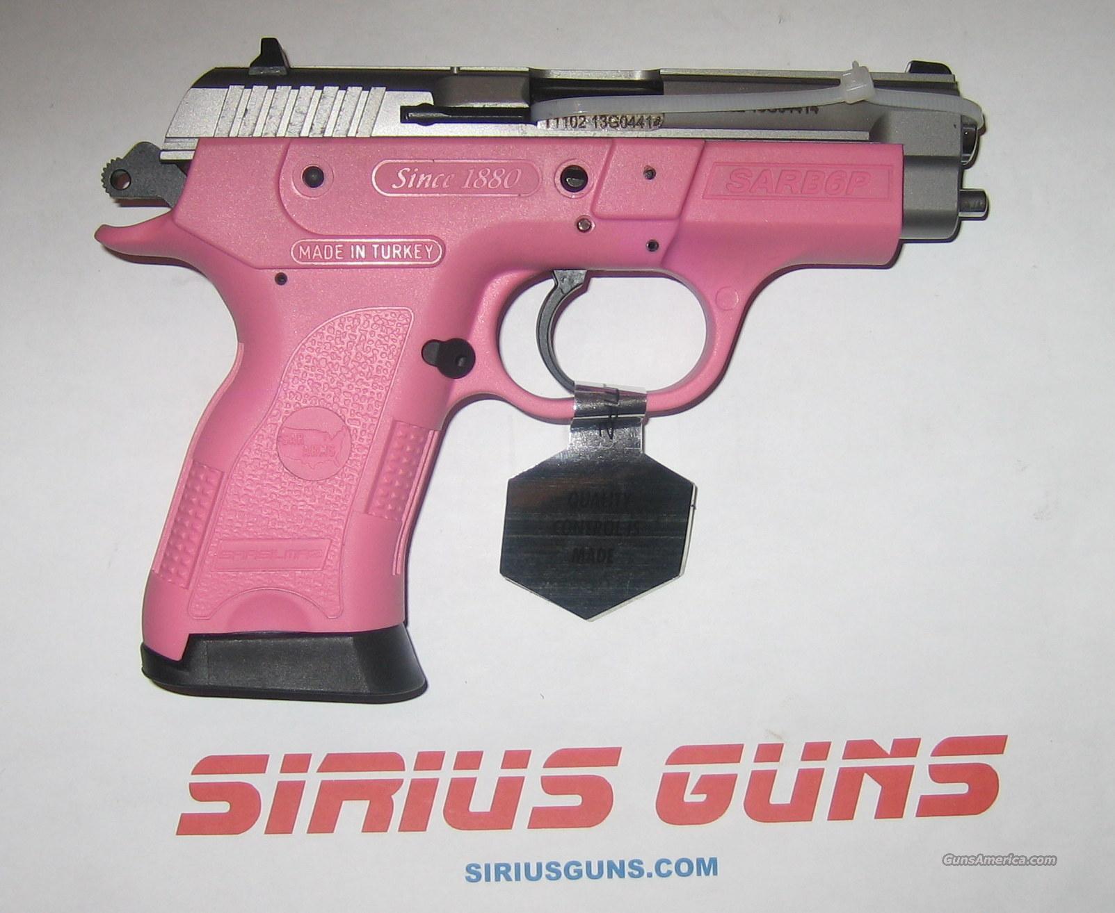 EAA SAR B6P PINK LADY 9mm 13+1