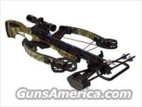 Horton Fury Crossbow Package with 4x 32mm Mult-A-Range Crossbow Scope Realtree APG Camo