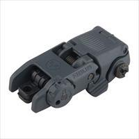 Magpul MOE M-lok midlength handguard & MBUS rear back up sight/ gray