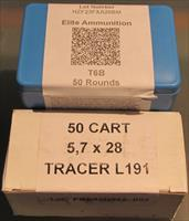FNH L191 tracer , Elite Ammunition T6B,S4M & FNH SS198LF Restricted