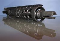 "SPIKE'S "" Black Widow "" 7.5"" 300 BLKOUT upper"