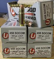 458 SOCOM 300gr Speer Bonded JHP/100rds