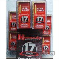 Hornady 17 HMR V-MAX 17gr./1000rd. / Special No CC Fees with BIN