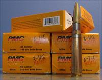 PMC X-Tac Match 50 BMG 740 Gr Solid Brass/100rd/Sale