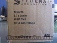 Federal AE 5.7x28mm 40gr/ 500rds / Special/ FREE SHIP & NO CC FEES with BIN