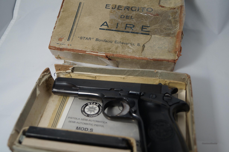 star mod s blued 380 caliber with box manual for sale rh gunsamerica com Star SS 380 Holster Star SS 380 Holster