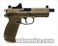 FNH FNX-45 Tactical FDE .45 (3) 15 ROUND MAGS 45