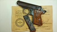 NAZI @@RARE@@ WALTHER PPK HONOR PISTOL GROUPING
