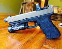 Custom Glock 20 c with threaded kkm barrel.