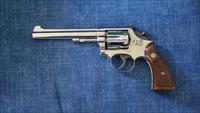S&W:  model 48  (4-screw frame)