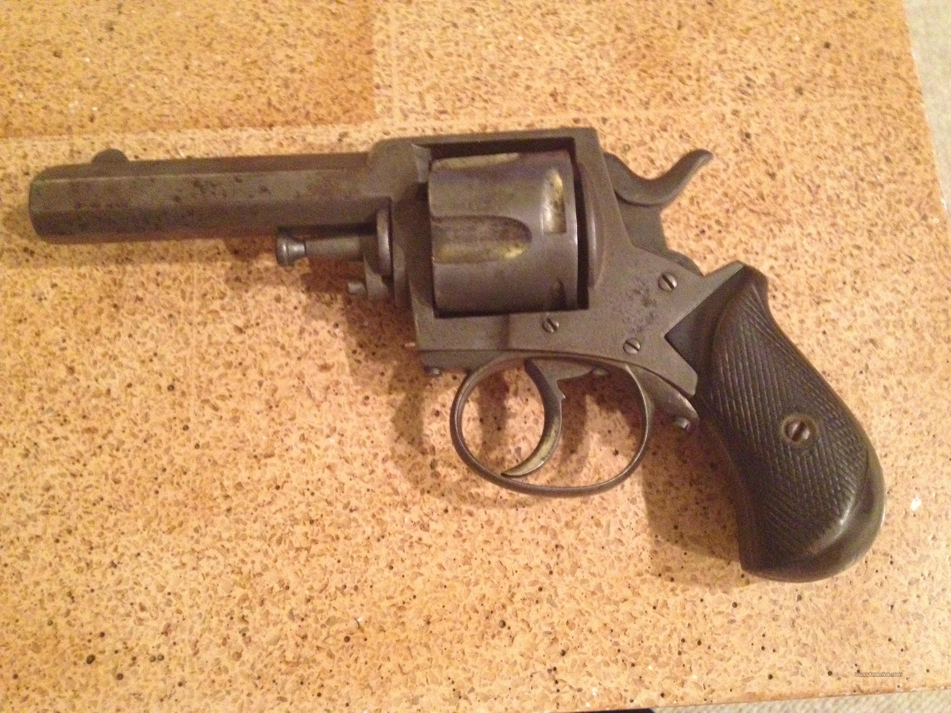 British Bulldog 44 Cal Revolver For Sale