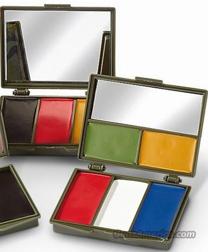 Case Of Camo Face Paint Compacts With Mirror Mil Tec Dealer Lot