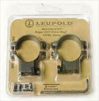 LEUPOLD RINGMOUNT RUGER M77, 30MM MEDIUM, 51041, Matte