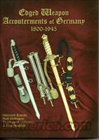 EDGED WEAPON ACCOUTERMENTS OF GERMANY, 1800-1945, FREE SHIPPING.
