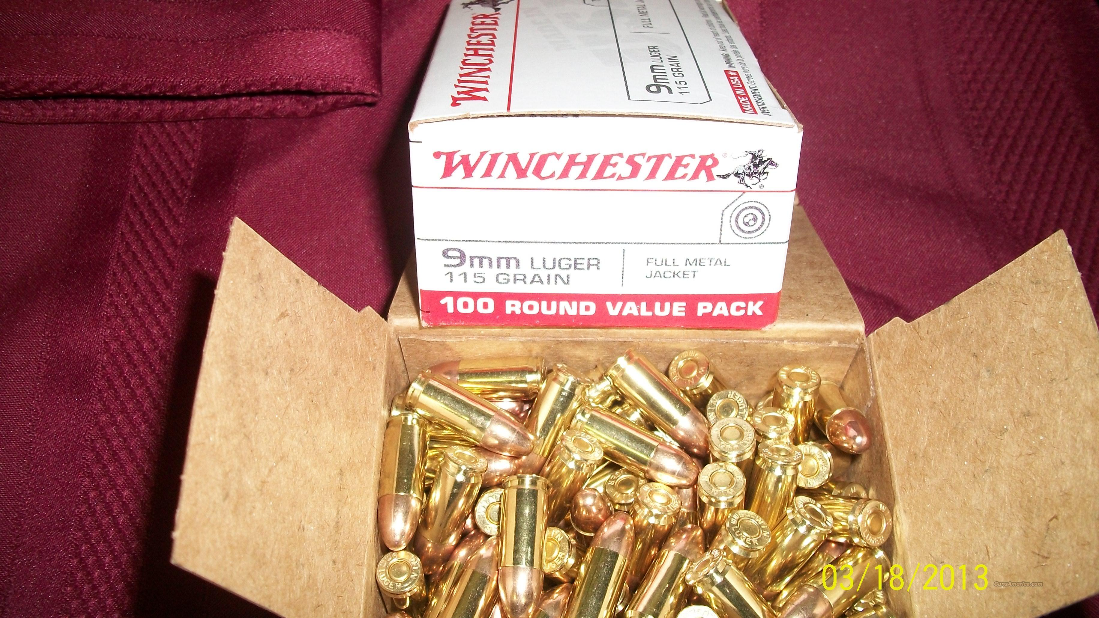 9mm Ammo 9mm Luger Ammo 200 Rounds