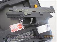 Brand New Sig Sauer P320 320 Carry Nitron 320C 9mm