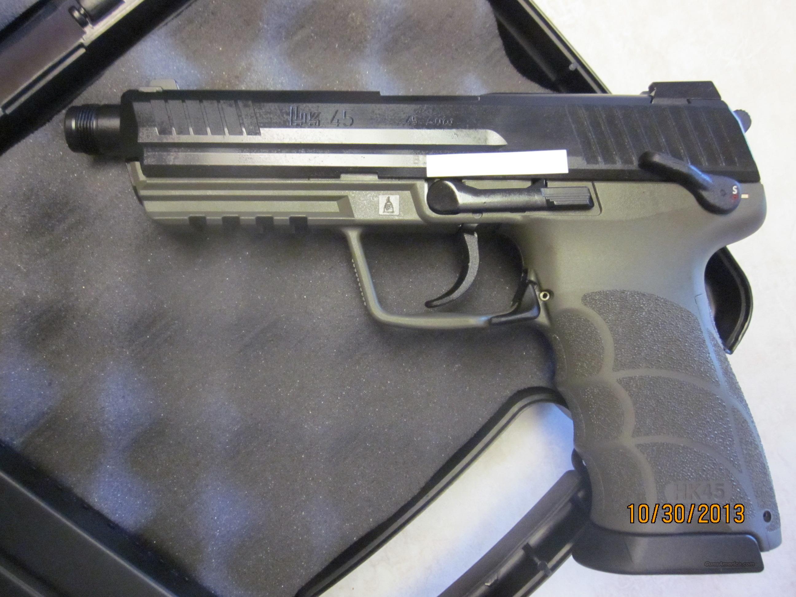 Hard To Find Heckler & Koch HK45 HK Tactical H&K 45 ODG Green NIB