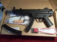 "GSG-5 ,""MP-5"" 22 cal assault type pistol, NIB, with 2 each 25 round mags"