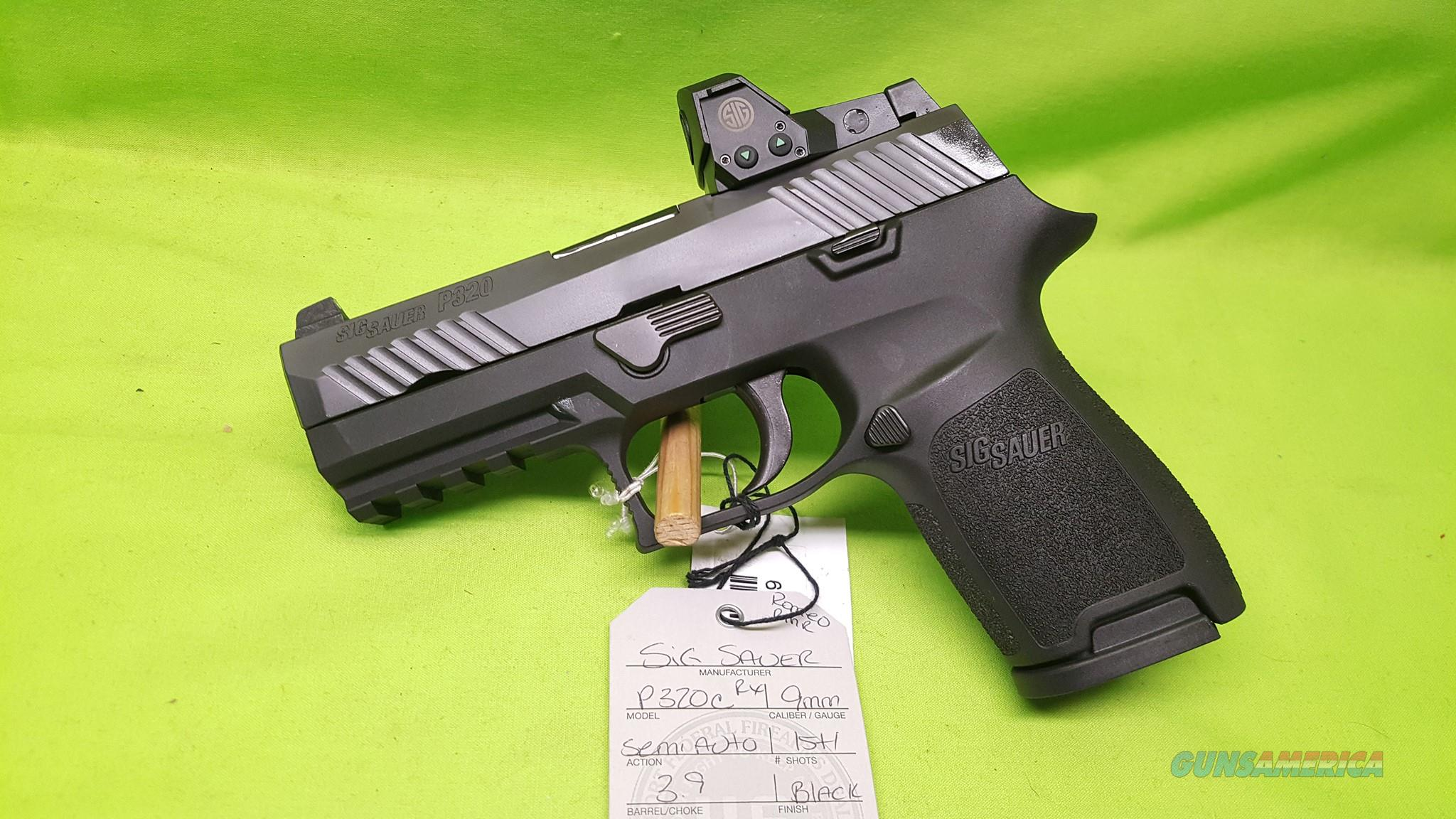 SIG SAUER P320 RX C COMPACT 9MM 3 9 15RD P320RX 9