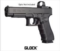 NEW...GLOCK 34 GEN 4 9MM 9 MM 17RD MOS Modular Optic System RMR RAIL