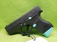 "GLOCK 43 9 9MM 6RD 3.39"" ROBIN EGG BLUE TIFFANY"